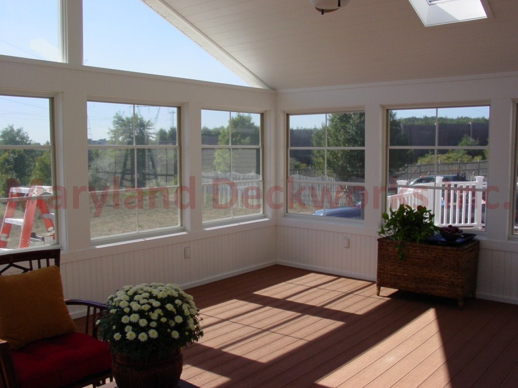 Screen and Glass Enclosures by Clarksville, MD Decks Division of Maryland Deckworks, Inc.
